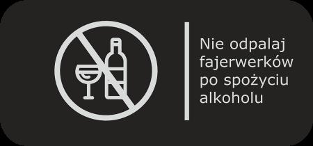 Nie odpalaj po spożyciu alkoholu